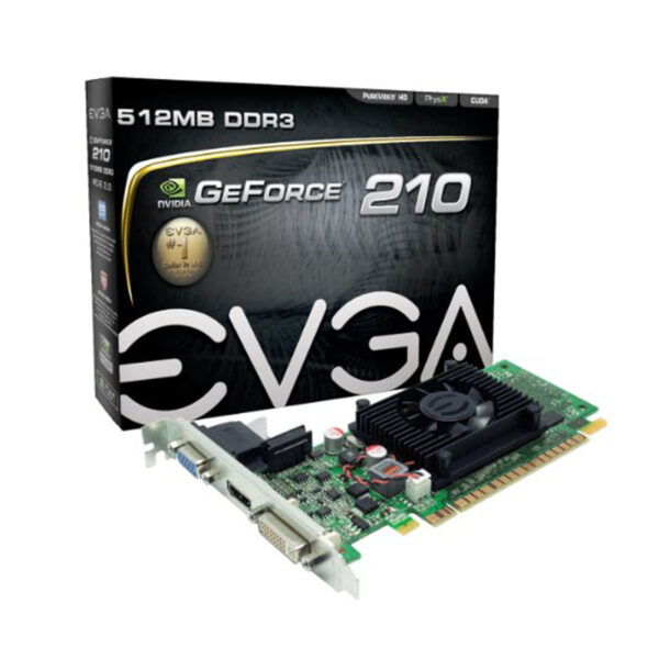 EVGA GeForce 210 512 MB DDR3