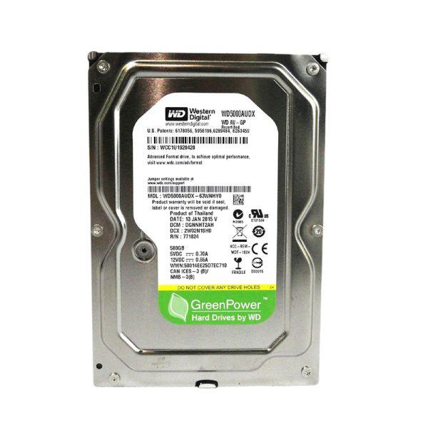 هارد دیسک Western Digital Green 500GB