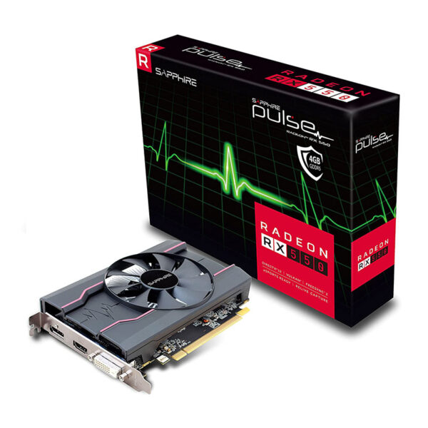 SAPPHIRE RX 550 4GB GDDR5