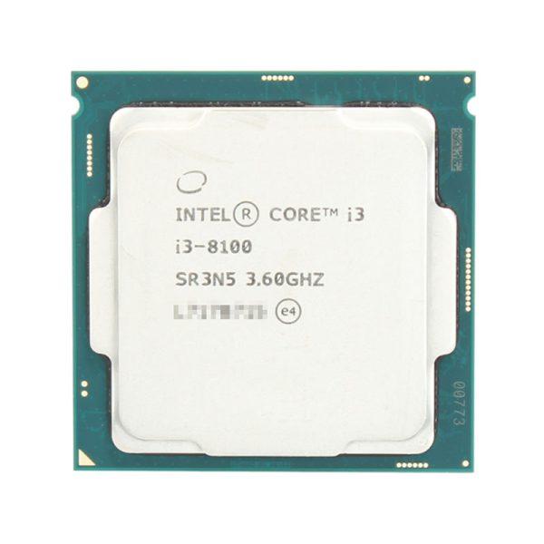 پردازنده اینتل Intel Core i3 8100