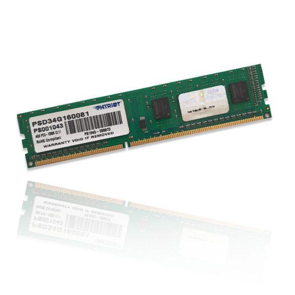 رم پاتریوت PATRIOT 4GB DDR3 1600MHz