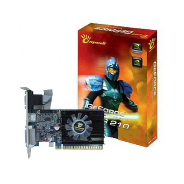 Manli GeForce G210 1GB DDR3 مانلی