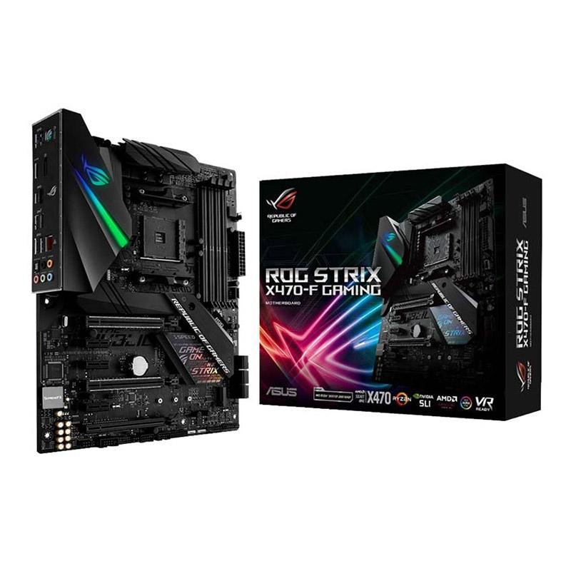 ASUS X 470 STRIX F GAMING + RYZEN 7 2700X + FAN AMD ORIGINAL