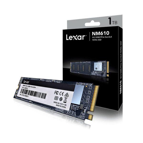 Lexar NM610 M.2 2280 NVMe 1TB SSD