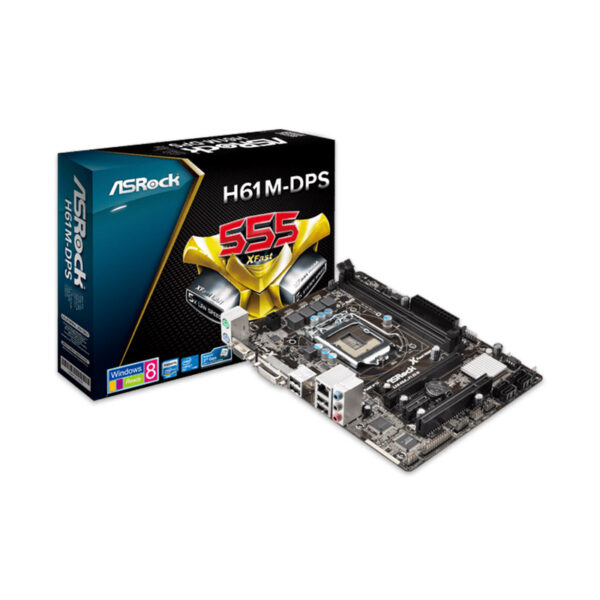 ASROCK H61M-DPS + Intel Pentium G2020