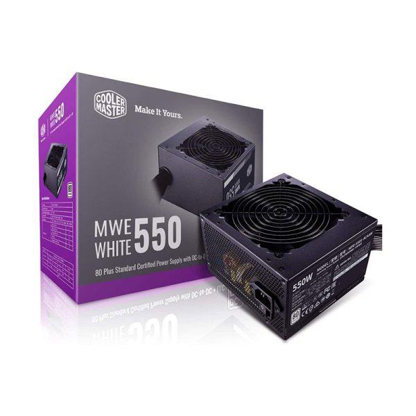 پاور کولرمستر Cooler Master MWE White 550W 230V