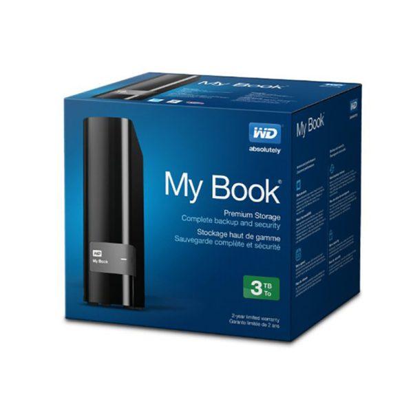 هارد اکسترنال وسترن دیجیتال Western Digital (WD) MY BOOK 3TB