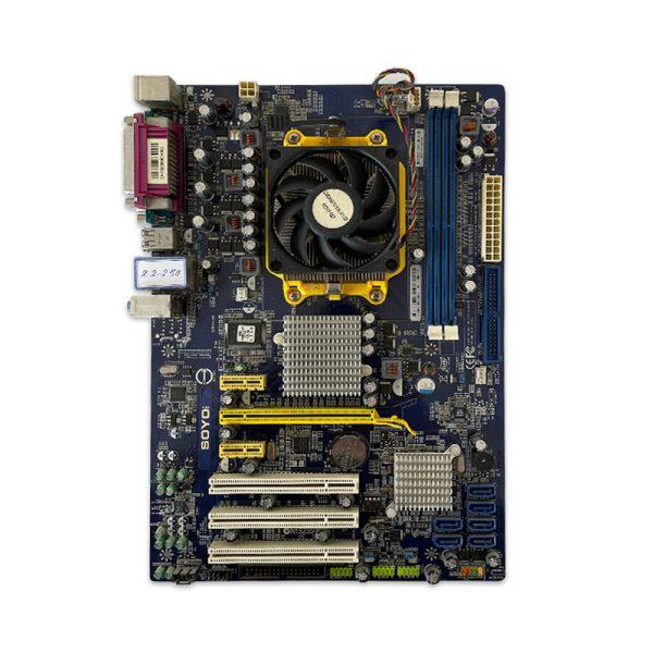 SOYO Foxconn A78AX + AMD X2 250