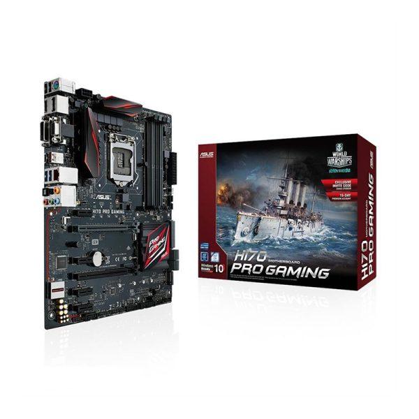 مادربرد ایسوس ASUS H170 PRO Gaming + پردازنده Intel Core i5 6400