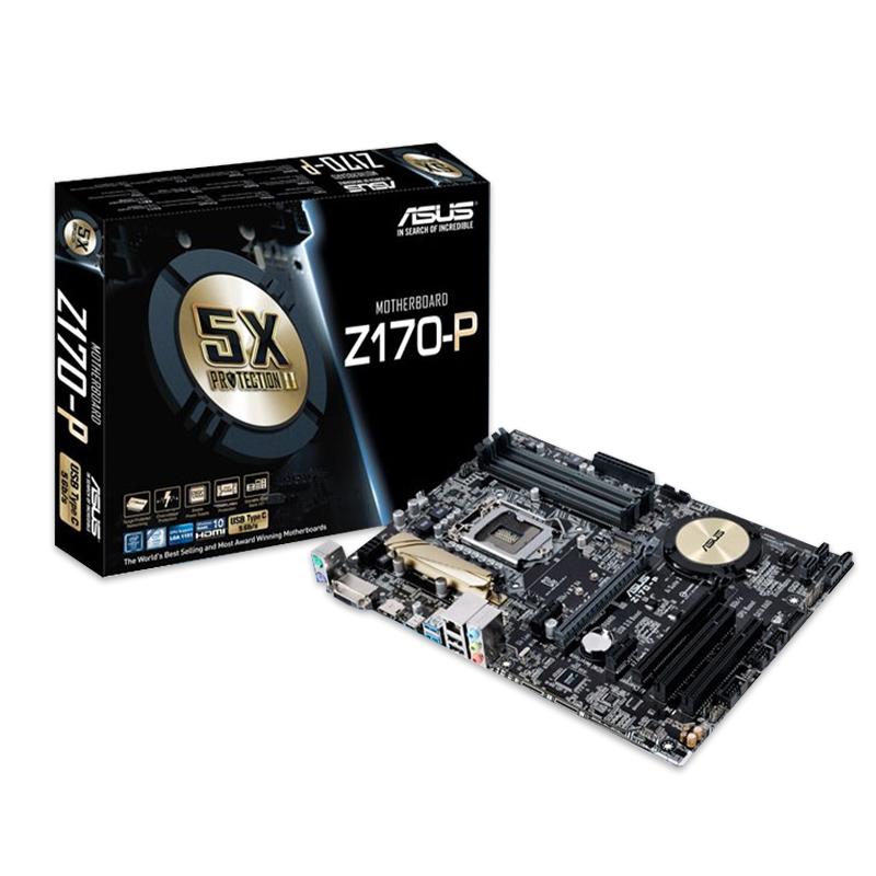 مادربرد ایسوس ASUS Z170-P + پردازنده Intel Core i3 6100