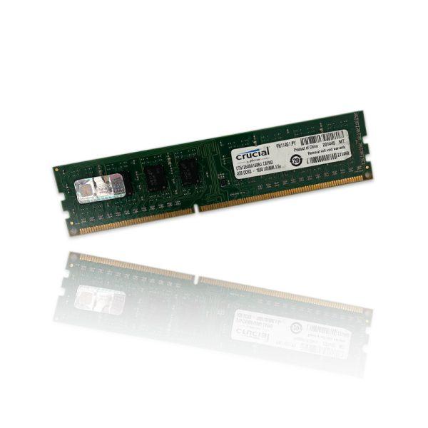 رم Crucial 4GB DDR3 1600Mhz