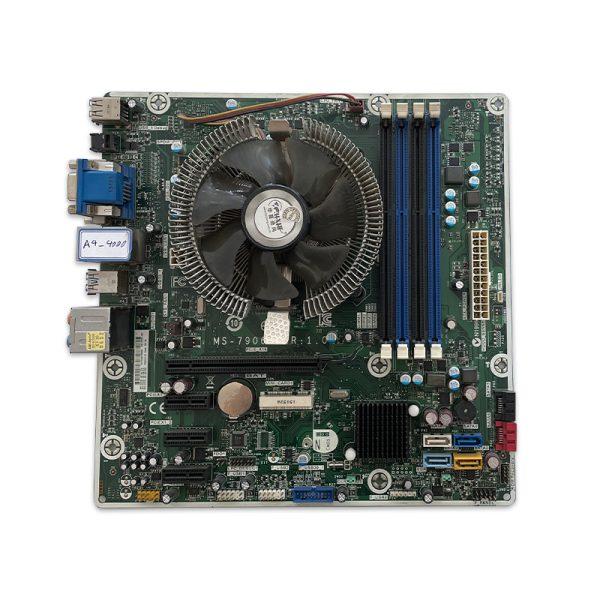 مادربرد اماسآی MSI MS7906 + پردازنده AMD A4 4000