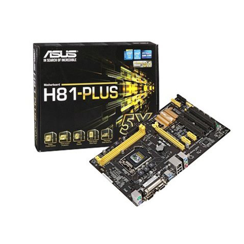 باندل (مادربرد + پردازنده) ASUS H81 Plus + Intel Core i7 4770