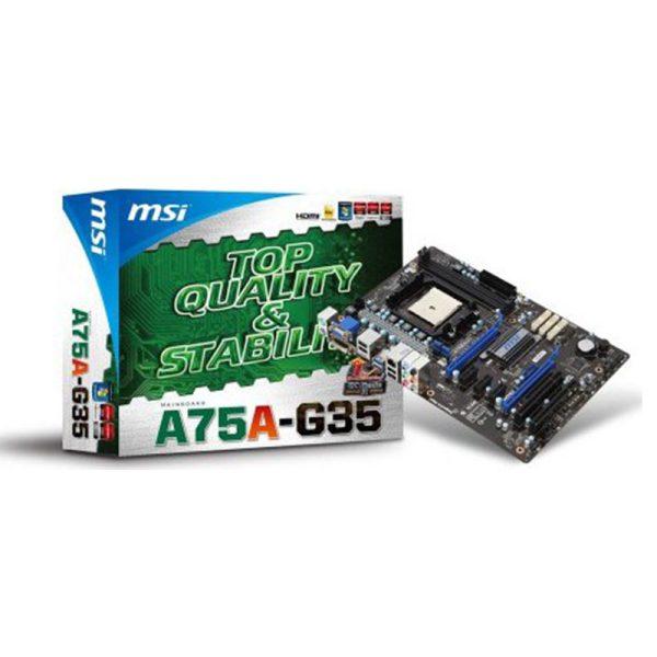 مادربرد اماسآی MSI A75A-G35 + پردازنده AMD X4-631