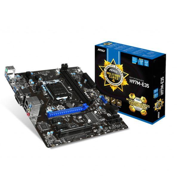 مادربرد اماسآی MSI H97M-E35+ پردازنده اینتل Intel Core i5 4440