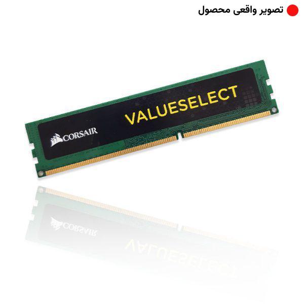 رم 4 گیگ کورسیر Corsair Value Select 4GB 1600Mhz DDR3