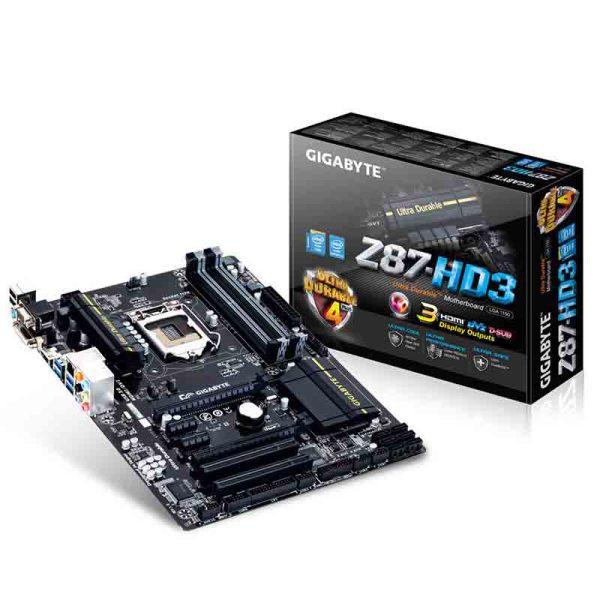 باندل مادربرد گیگابایت GIGABYTE Z87-HD3+ پردازنده اینتل Intel Core i5 4670k