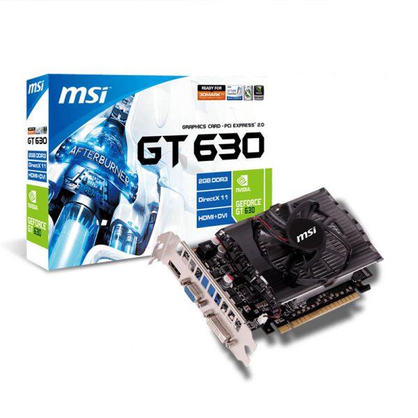 کارت گرافیک اماسآی MSI N630 GT 2GB DDR3 128Bit