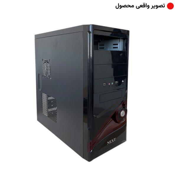 قاب کیس کامپیوتر نکست NEXT BLACK 01